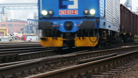 Pociąg Towarowy 4K zbiory wideo