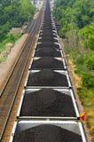 pociąg węglowego Zdjęcia Royalty Free