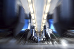 pociąg, wnętrze Obraz Stock
