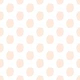 Pociągany ręcznie kropek bezszwowy wzór Zdjęcia Royalty Free