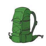 Pociągany ręcznie plecak Zdjęcie Stock