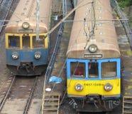 pociągi poland Zdjęcia Royalty Free