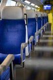 Pociągów siedzenia - 01 Zdjęcia Royalty Free
