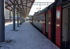 pociąg Zdjęcie Stock