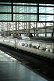 pociąg do stacji Fotografia Stock