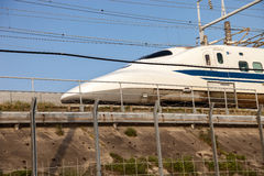 pociąg shinkansen kula Japan Obrazy Stock