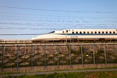 pociąg shinkansen kula Japan Fotografia Stock