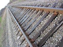 pociąg toru Obrazy Stock