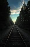 pociąg toru Zdjęcie Stock