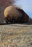 pociąg towarowy Obraz Royalty Free