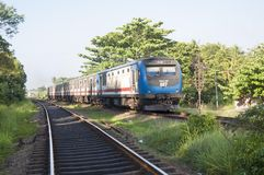Pociąg w Srilanka Obraz Royalty Free