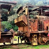 pociągi Fotografia Stock