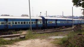 Pociągi i linie kolejowe Zdjęcie Stock