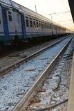 Pociągi i staci St Lucia, Wenecja Obrazy Royalty Free