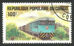Pociągi, lokomotywa Cc 203 Zdjęcia Royalty Free