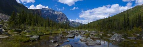 pociechy jeziora panorama Zdjęcia Stock