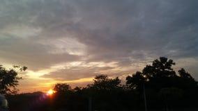 Pociemniały niebo Fotografia Stock
