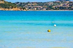Pociesza w Costa Smeralda Zdjęcie Stock