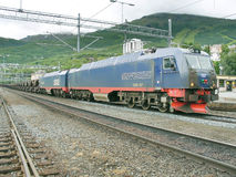 Pociąg Towarowy Obrazy Royalty Free