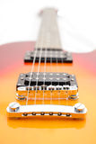 Pocilga de Les Paul de la guitarra eléctrica foto de archivo