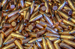 5 56 pocisków Zdjęcie Stock