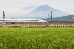 pocisk shinkansen pociąg Zdjęcie Stock