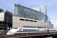 Pociska pociąg w Japonia zdjęcie royalty free