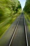 pociska pociąg Zdjęcie Stock