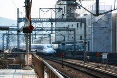 Pociska pociąg Obraz Stock