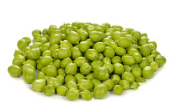 pociski tła zielonych grochu kapsuły białych Obraz Stock