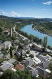 Pocitelj, παλαιά πόλη στη Βοσνία & την Ερζεγοβίνη Στοκ εικόνες με δικαίωμα ελεύθερης χρήσης