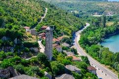 Pocitelj - Босния и Герцеговина Стоковые Изображения RF