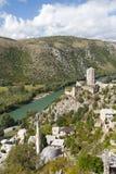 Pocitelj in Bosnia and Herzegovina Stock Photo