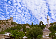 Pocitelj - Bosnia and Herzegovina Royalty Free Stock Photography