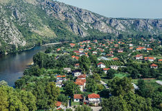 Pocitelj in Bosnia and Herzegovina Stock Photo