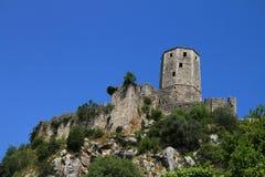 Pocitelj,Bosnia and Herzegovina. Old town Pocitelj near the Mostar Stock Images