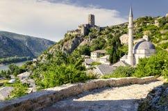 Pocitelj, Bosnie-Herzégovine - hadji Alija Mosque Images stock