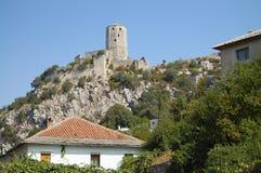 Pocitelj Castle - Βοσνία-Ερζεγοβίνη Στοκ Εικόνα