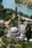 Pocitelj mosque. In southern Europe Stock Photo