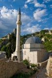 Pocitelj mosque stock photo