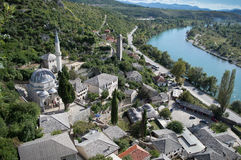 Pocitelj, old town in Bosnia & Herzegovina Stock Photography