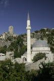 Pocitelj Village mosque in Bosnia Hercegovina. Pocitelj village mosque near mostar in Bosnia Hercegovina Royalty Free Stock Photography