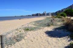 Pocitos de Playa Fotos de archivo