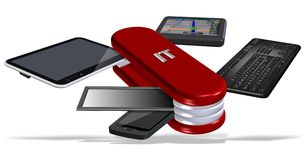 Pocket IT Stock Photo