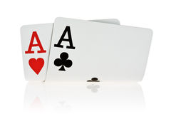 Pocket Aces Stock Photos