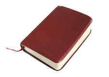 Pocket bible stock image