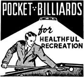 Pocket Billiards Stock Photography