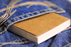 Pocket book Royalty Free Stock Photography