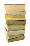 Pocket books. Pile of old pocket books - see profile for more views royalty free stock photography