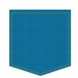 Pocket calças de brim Foto de Stock